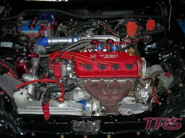 D16Z6 Turbo - zakuty, na dotarciu - objaw: stuki w silniku