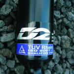 Kpl zawieszenie D2 Racing z regulacją wysokości i twardości