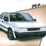 Taką wizualizację auta opracowała firma MP CLASSIC, która zajęła się wspawaniem przedniego i tylnego kompletnego zawieszenia z BMW E36