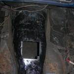 Nowa skrzynia wymagała przebudowy tunelu