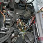 """Instalacja elektryczna. Brak wiązki silnikowej, trzeba było ją """"stworzyć"""" od zera"""
