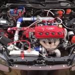 Silnik po zamontowaniu w samochodzie przez właściciela
