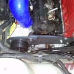 Customowe mocowanie kompresora zaprojektowane w naszej firmie