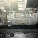 Miejsce na kompresor