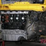 Silnik w trakcie montażu