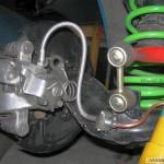 Customowy stabilizator tylnej osi