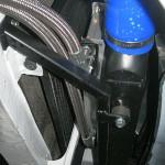 Intercooler i chłodnica oleju na miejscu