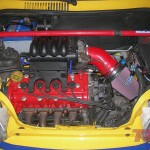 Silnik przygotowany do strojenia