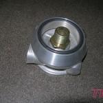 Podstawka filtra oleju z wyjściem na chłodnicę wraz z adapterem do silnika Fiata