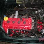 Silnik jest już w aucie. Zamontujemy osprzęt, elektronikę i odpalamy