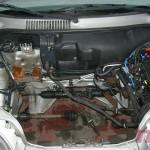 Komora silnika została umyta. Zrobimy zaprawki lakiernicze i rozpoczynamy montaż silnika