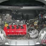 Wreszcie silnik w aucie. Teraz konstruuję kolektor wydechowy.