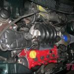 Silnik odpalony, sprawdzony i przygotowany do strojenia (filtr powietrza zamontowany tylko na potrzeby strojenia:) )