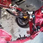 Komora silnika została wymyta i jest gotowa na montaż zespołu napędowego