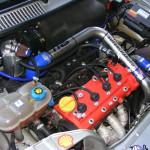 Fiat Seicento 1.4 16V + kompresor ROTREX. Auto zbudowane w naszej firmie. Tym razem wymienimy przednie hamulce na 257mm, do tego bębny wymienimy na tarcze i zmodyfikujemy kilka innych rzeczy:)