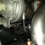 Hydraulika i chłodzenie turbo podłączone