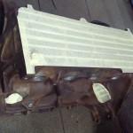 Blok po szlifie, przygotowany do malowania