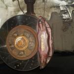 Komplekskowy remont hamulców łącznie z przewodami, tarczami, klockami i regeneracją zacisków