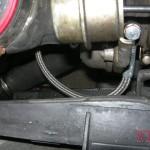 Poprawione podłączenie oleju do turbo