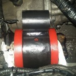Poduszki silnika dostały poliuretanowe wkładki