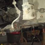 Zdemontowaliśmy wahacze i zwrotnice do odświeżenia i montażu poliuretanów