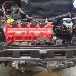 Silnik został już zamontowany.
