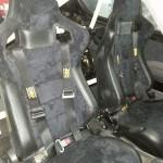 Fotele zamontowane