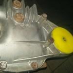 Montujemy również poliuretanowe tuleje zawieszenia