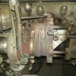 Demontujemy stare turbo IHI