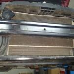 Stary intercooler zdemontowany