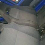 Fotele z Subaru zamontowane :)