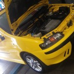 Po krótkiej rozmowie z właścicielem karoseria Cinquecento została zamieniona na Fiat Punto HGT.
