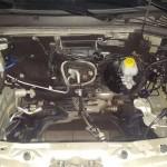 Komora silnika umyta czeka na nowe serce