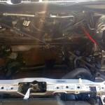 Komora przygotowa do montażu silnika