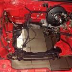 Silnik zdemontowany, komora wymyta