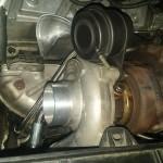 Podpinamy chłodzenie i smarowanie turbo