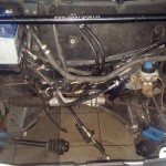 Stary silnik zdemontowany
