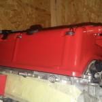 Pokrywka wypiaskowana i pomalowana w Saw-Cars