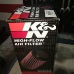 Filtr K&N, żeby silnik lżej oddychał