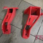 Łapy silnika gotowe. 100% hand made by TRS Malowanie proszkowe oczywiście Saw-Cars
