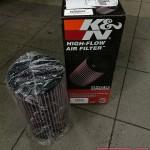 Etap I - Wymiana seryjnego filtra na wkładkę K&N