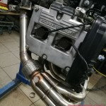 Kolektor wydechowy MGmotorsport już na miejscu