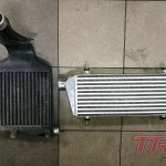 Stary i nowy intercooler