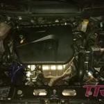 Silnik poskładany i odpalony