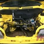 Komora wymyta, można montować silnik