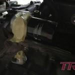 Termostat oleju zamontowany