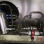 Układ paliwowy został przystosowany do zasilania alkoholem