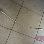 Przewód wysprzęglika w stalowym oplocie dorobiony