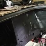 Komora silnika została oczyszczona i nieco odświeżona przed statecznym montażem silnika