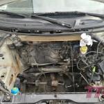 Stary silnik wyciągnięty